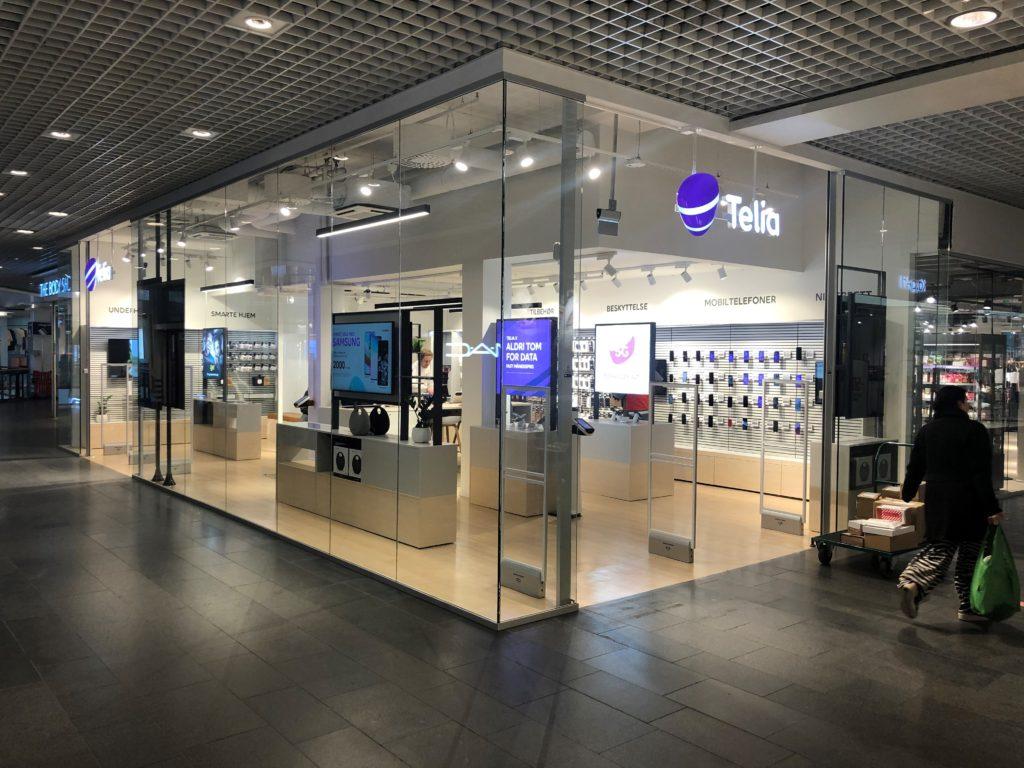 Telia-butikk ferdig ombygget